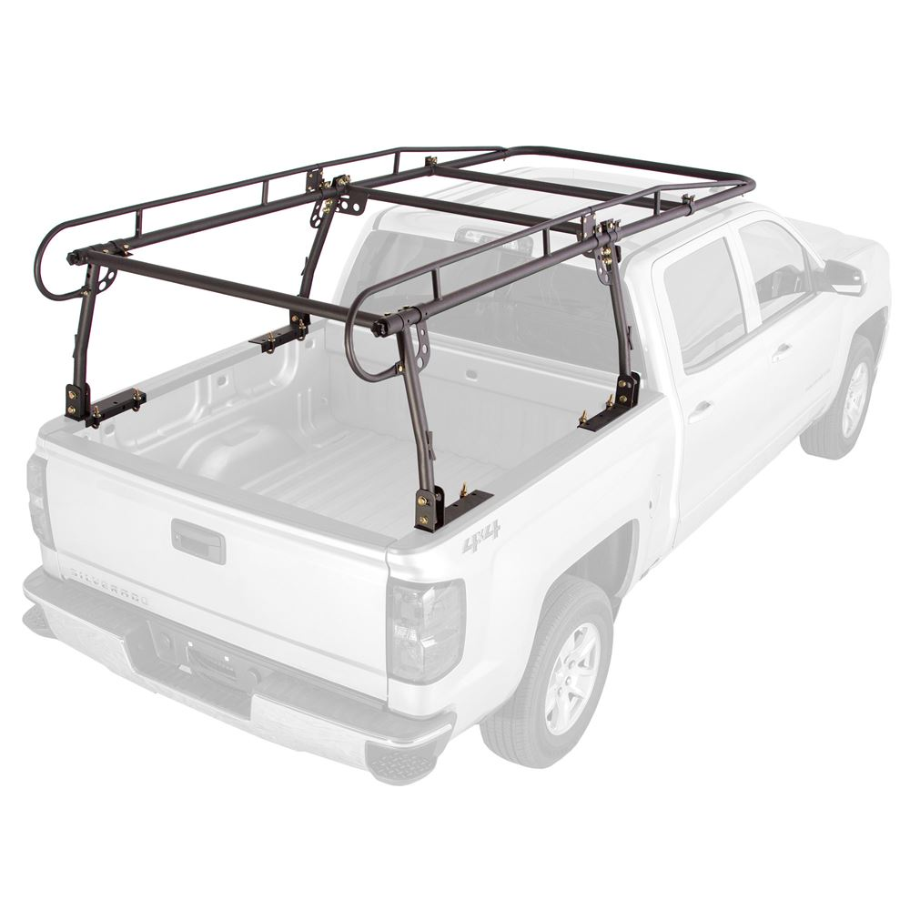 """Apex Contractor Pickup Truck Ladder Rack with Cab Overhang (25"""" Cab Height)"""