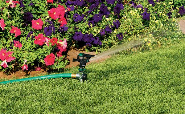 "New 1//2/"" Garden Lawn Grass Full Circle Water Impact Sprinkler Irrigation Head"
