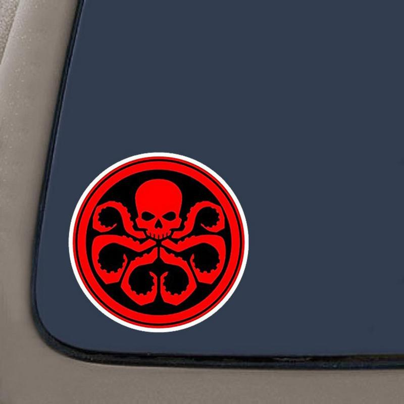 Hydra Inspired Marvel Agents Of Shield Decal Sticker For Car Window