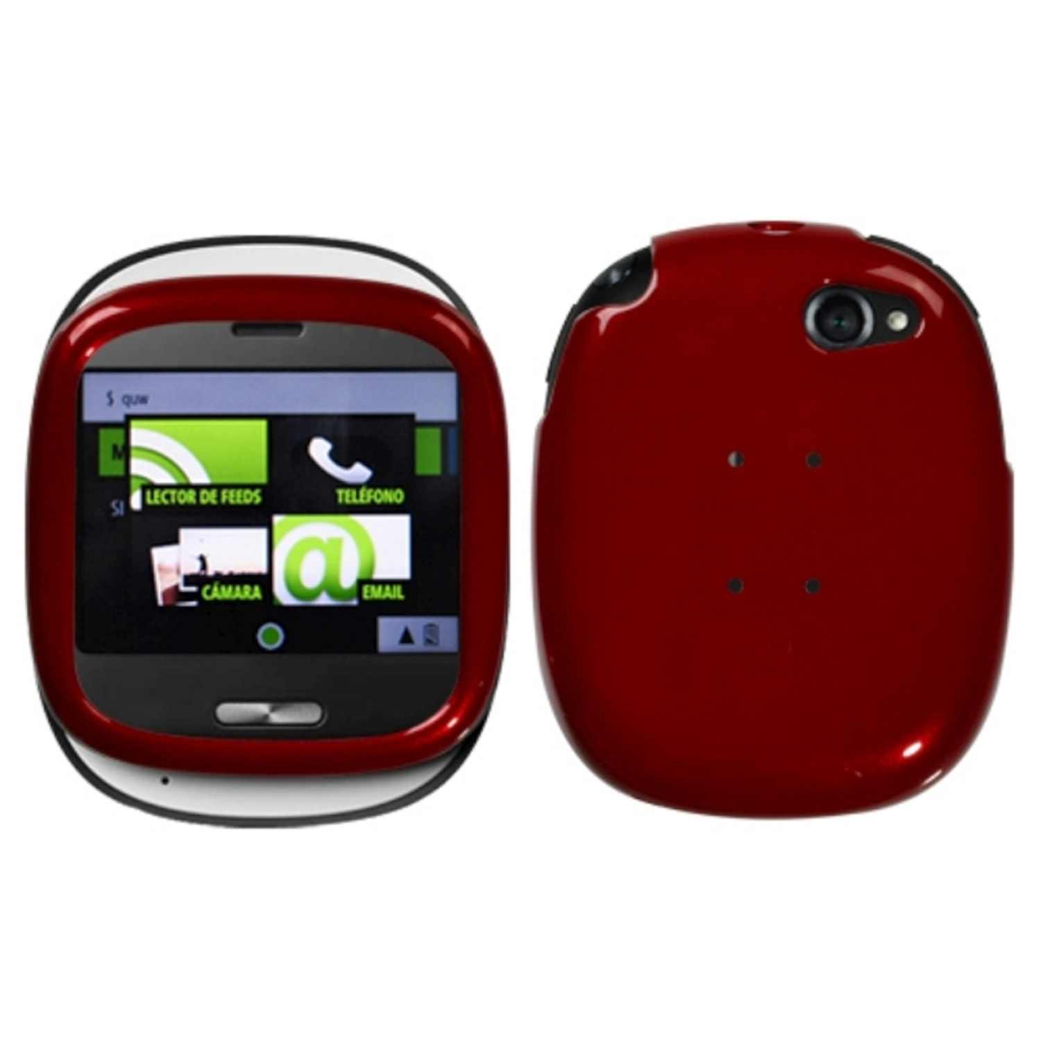 Insten Solid Red Phone Case for SHARP: Kin One (Microsoft)
