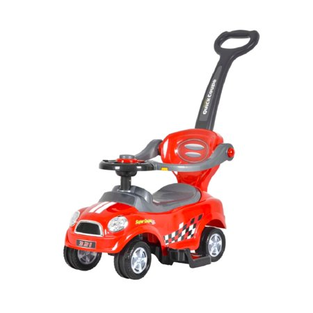Best Ride On Cars  Mini 3 in 1 Push Car Red - Cars 1 Toys