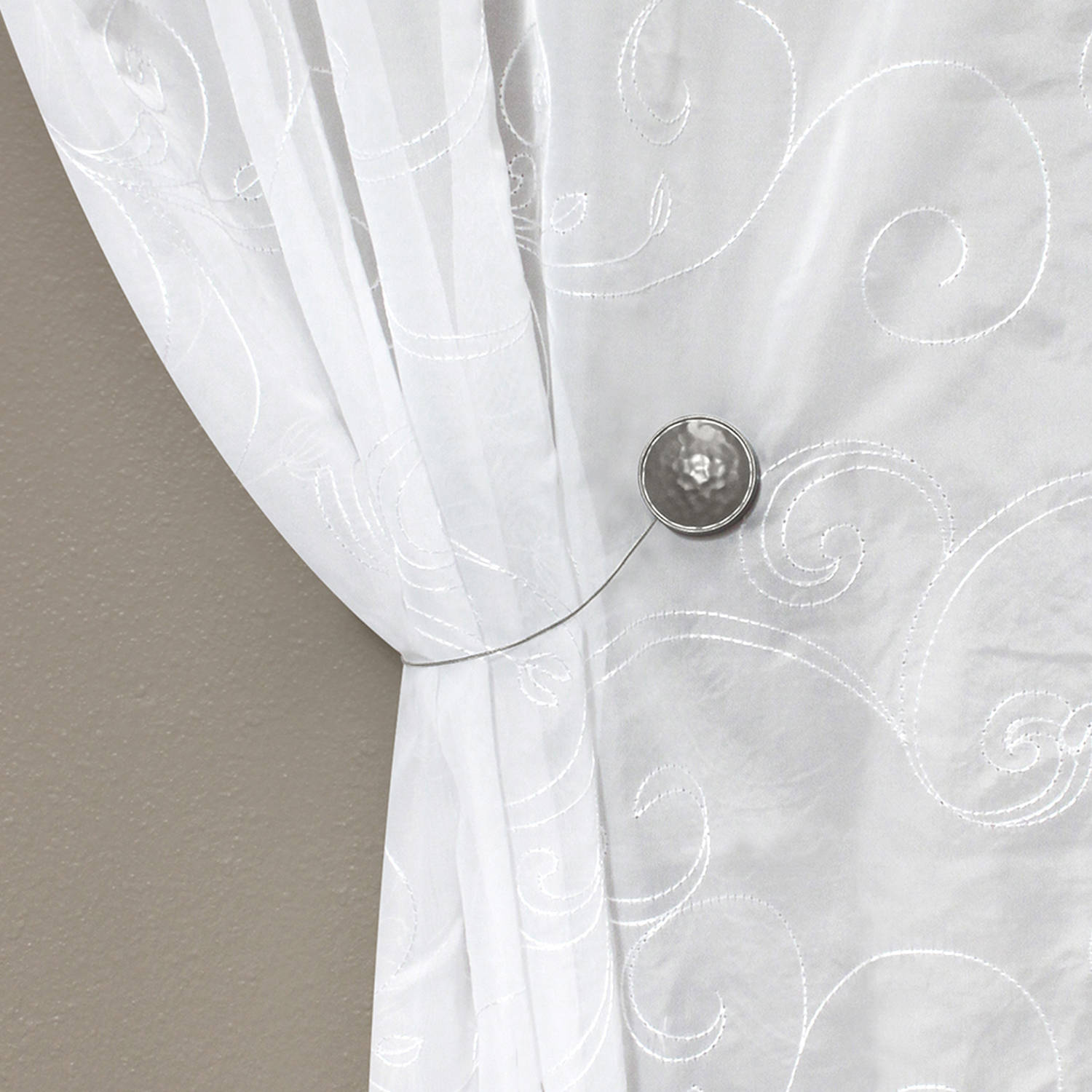 Image Result For Curtain Tie Backs Placement