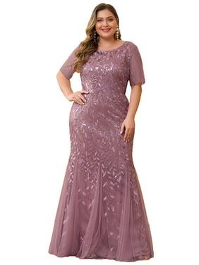 Pinup Fashion Womens Lace V Neck Plus Size Dresses Bridal Wedding Party