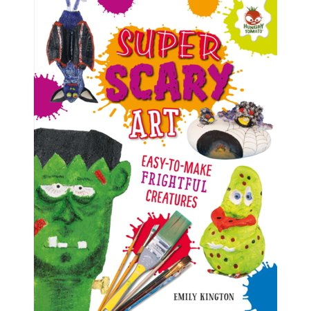 Super Scary Art - eBook - Scary Arts And Crafts For Halloween