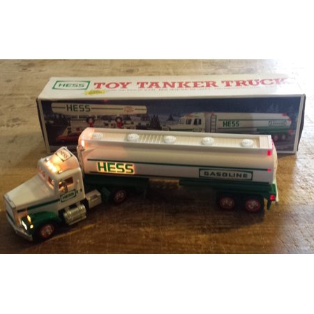 Hess 1990 Collectable Toy Tanker Truck, Energizer Brand Batteries Required not included By Hess Corporation From USA
