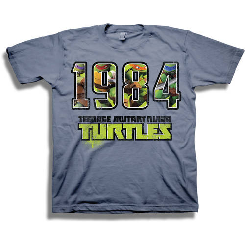 "TMNT ""1984"" Boys' Short Sleeve Graphic Tee T-Shirt"