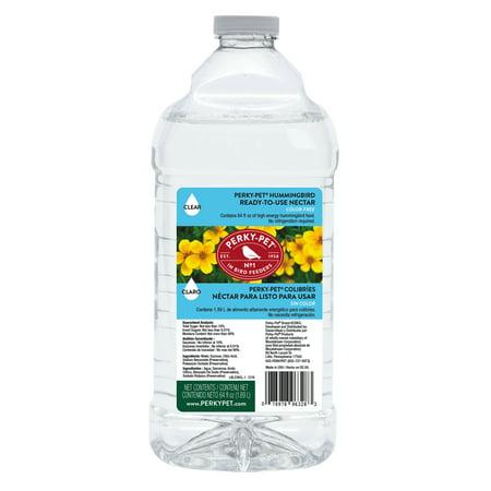Perky-Pet 64 fl oz Ready-To-Use Clear Hummingbird Nectar