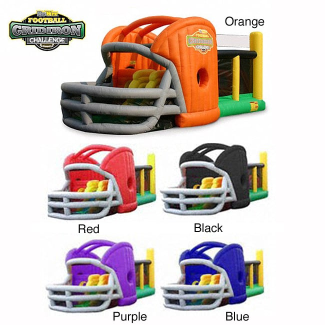 KidWise Gridiron Football Challenge Game Day Commercial Bounce House by Overstock