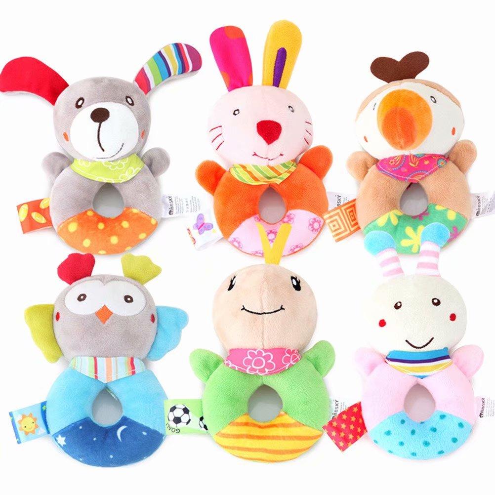 Akoyovwerve Stuffed Animal Soft Cushion Cute Owl Plush Pillow