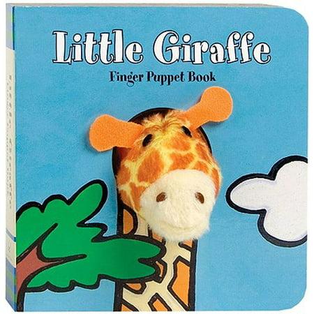 Little Giraffe: Finger Puppet Book [With Finger Puppet] (Board - Giraffe Puppet