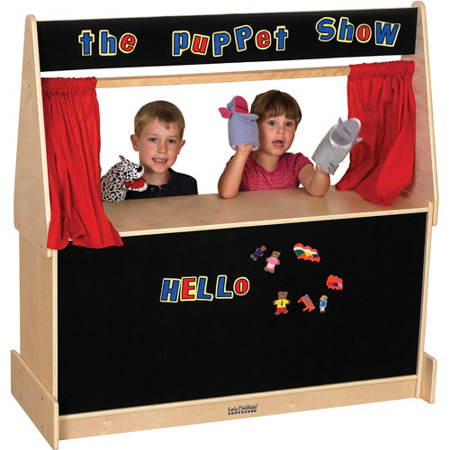 Puppet Theater, Flannel Curtains