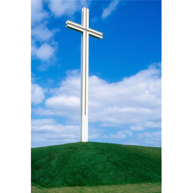 Posterazzi DPI1815859LARGE Cross Built for The Late Pope John Paul Ii Papal Cross Phoenix Park Dublin Co Dublin Ireland Poster Print by The Irish Image Collection, 24 x 36 - Large - image 1 of 1