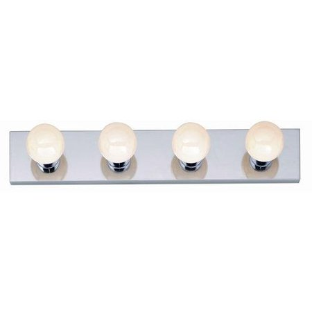 Vanity Lights Clip On : Nuvo Lighting 77/193 Bathroom Fixtures Indoor Lighting Vanity Strip ;Polished Chrome - Walmart.com