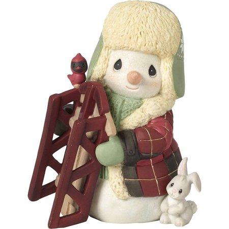 Precious Moments May Your Holidays Be Filled With Winter Thrills Annual Snowman Figurine #191015 ()