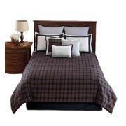 Hallmart 43180 Dover Plaid - 4 Piece Full Comforter Set