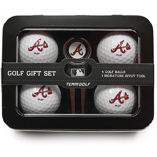 Atlanta Braves Tin Set 4 Ball