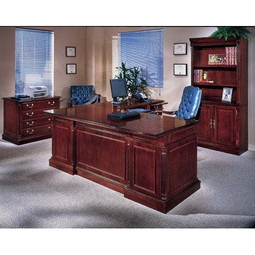 Flexsteel Contract Keswick 4-PIece U-Shape Executive Desk Office Suite