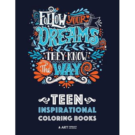 Teen Inspirational Coloring Books