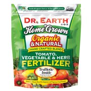 Dr. Earth Organic & Natural Home Grown Tomato, Vegetable & Herb Fertilizer 4-6-3, 4 lb.