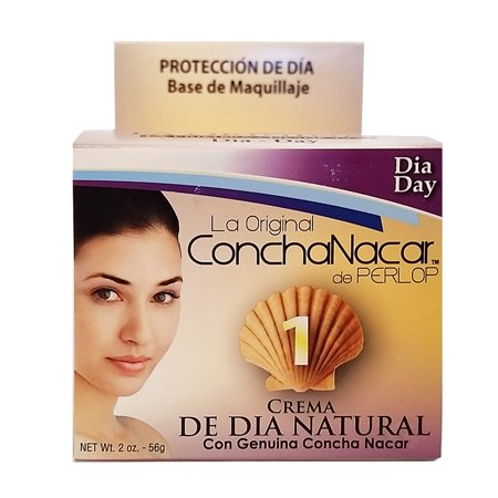 Perlop Concha Nacar Day No.1 2 oz - Crema de Dia Natural (Pack of