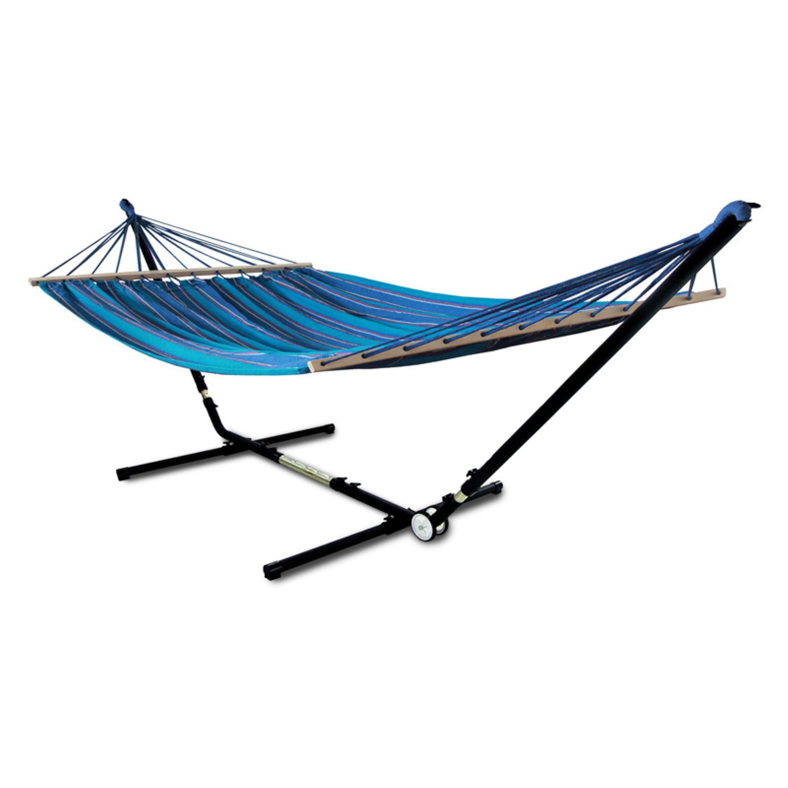 Hammaka Woven Hammock with Adjust to Fit Stand