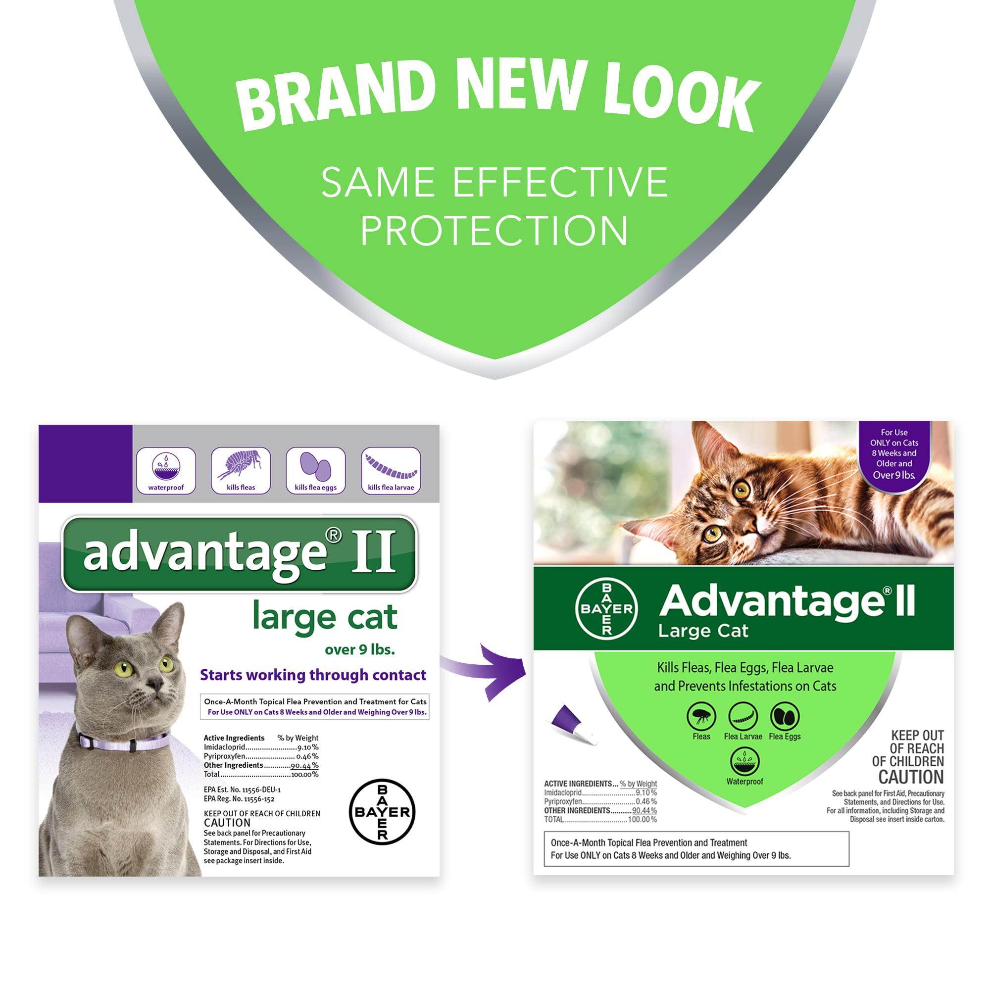 ae530f0af99a Advantage II Flea Treatment for Large Cats