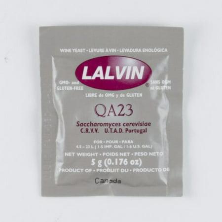 Lalvin QA23 White Wine Yeast Silver Oak Chocolate Wine