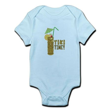 CafePress - Tiki Time! Body Suit - Baby Light Bodysuit](Adventure Time Onesie)