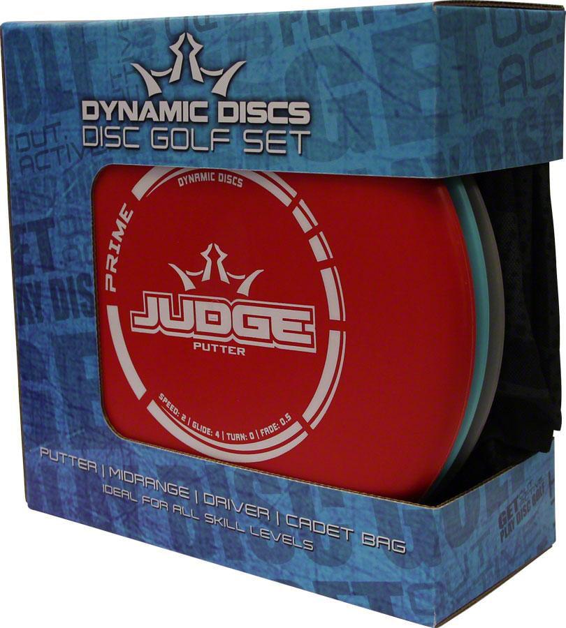 Dynamic Discs Prime Starter Disc Golf Set With Bag