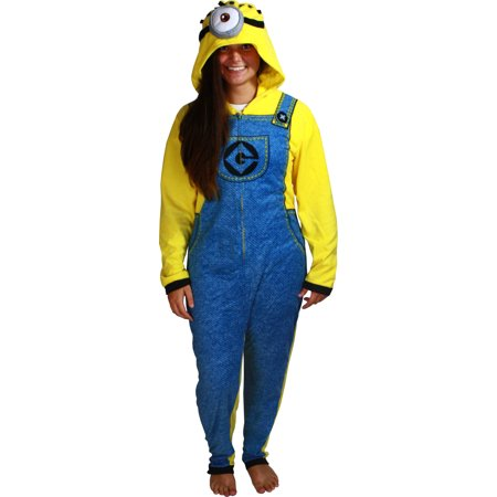 Despicable Me 2 Minion Adult Cosplay Union Suit - Minions Despicable Me Halloween Costumes