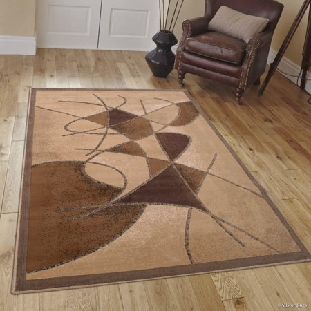 Allstar Berber Abstract Modern Area Carpet Rug (5' 2