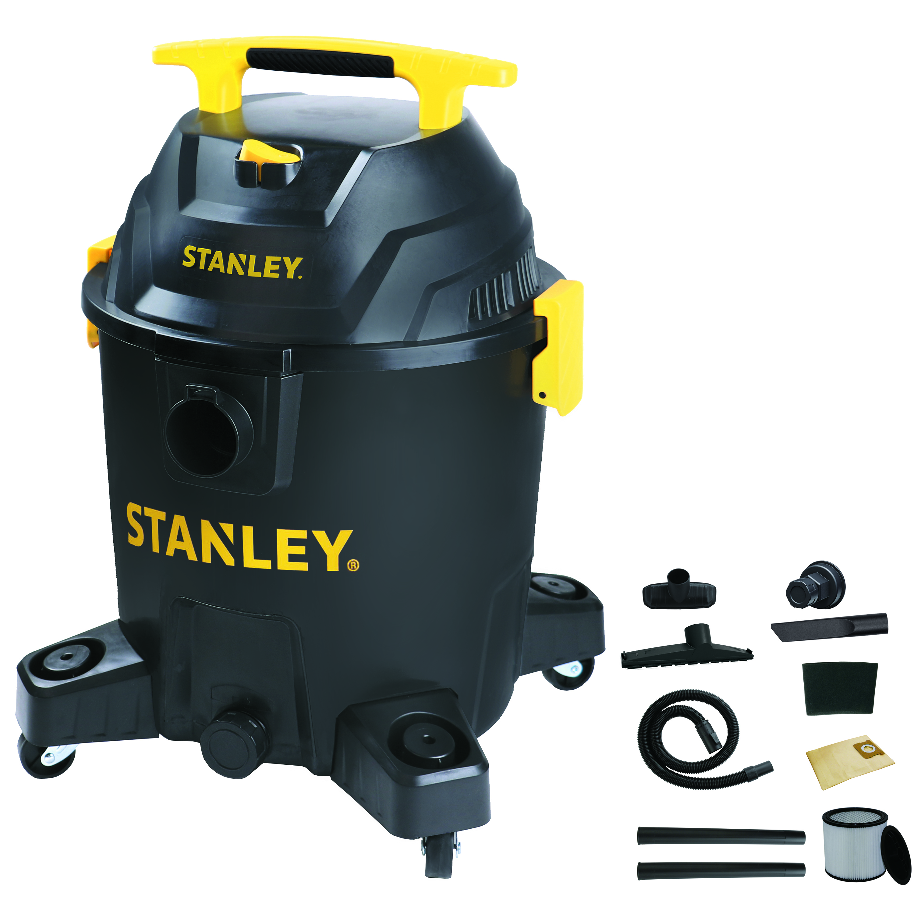 Stanley 10 Gallon, 6 Peak horse power Wet/dry Poly Vac