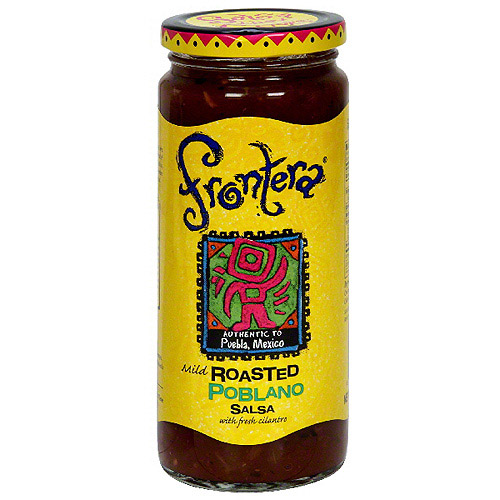 Frontera Roasted Poblano Salsa, 16 oz (Pack of 6)