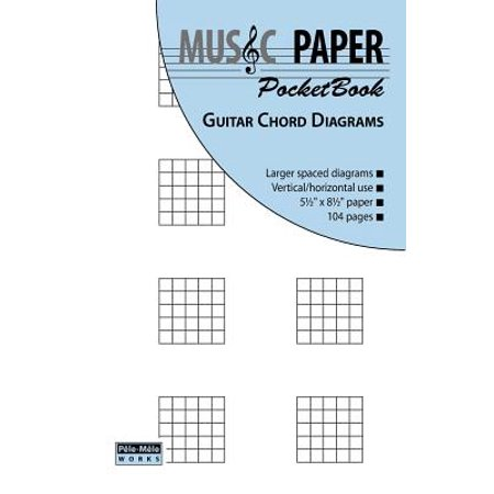 Music Paper Pocketbook - Guitar Chord -