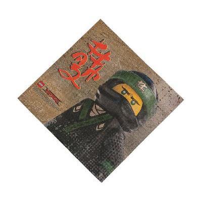 LEGO Ninjago Luncheon Paper Napkins 16 Piece(s)/PK 4PK