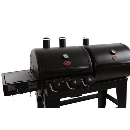 Char Griller Dual Function Gas Amp Charcoal Grill Black