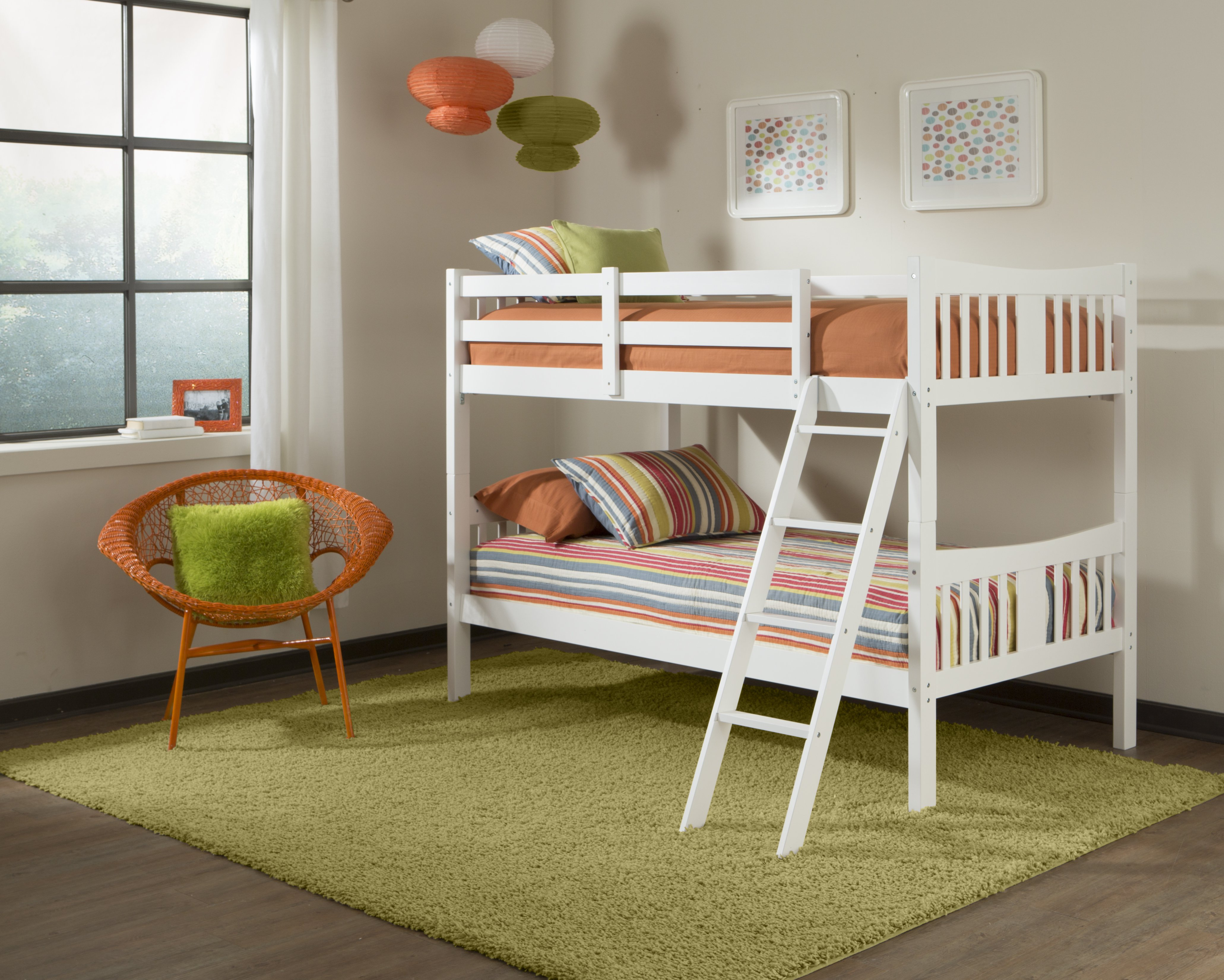Ideal Storkcraft Caribou Twin Over Twin Bunk Bed Image of