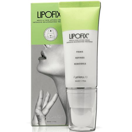 LIPOFIX Neck Firming Cream Tones and Firms Sagging Skin Anti-Aging Tightening Intensive Rejuvenating - 50Ml Almond Intensive Facial Cream