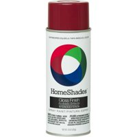 2-Pack Value - Colorplace gloss spray paint, fire red (Rubberized Floor Paint)