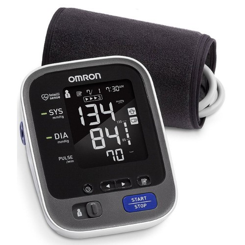 Omron 10 Series Wireless Upper Arm Blood Pressure Monitor with Two User...