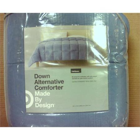 light blue solid down alternative comforter full queen made by design. Black Bedroom Furniture Sets. Home Design Ideas