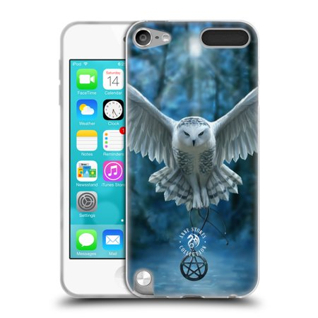 OFFICIAL ANNE STOKES OWLS SOFT GEL CASE FOR APPLE IPOD TOUCH MP3](Gem Wand)
