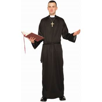 COSTUME-ADULT PRIEST - Celtic Priests Halloween