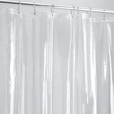 GLiving Best Mildew Resistant Shower Curtain Liner on the Market- Anti-Bacterial  Heavy Duty Liner-Waterproof-72x72