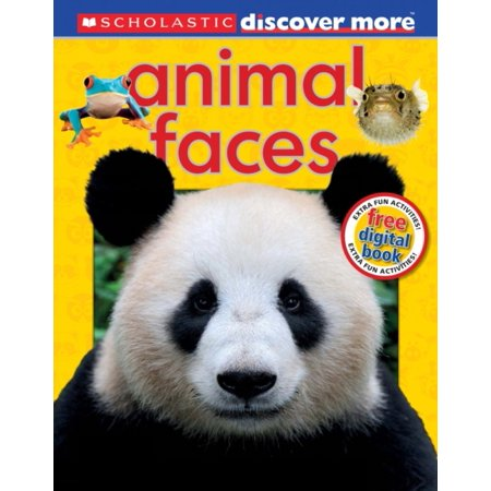 Animal Faces (Discover More) (Hardcover) (Animal Faces)