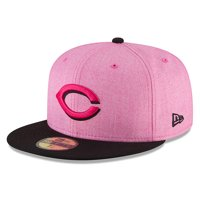 Cincinnati Reds New Era 2018 Mother's Day On-Field 59FIFTY Fitted Hat - Pink/Black