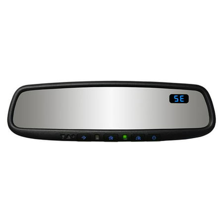 Gentex 50-GENK45AMB5 Auto Dimming Rearview Mirror with Compass, Blue Backlit Buttons & HomeLink Version - Gentex Auto Dimming