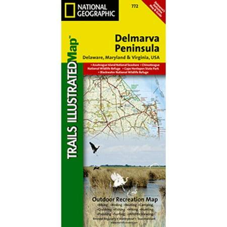 Universal Map Delmar Peninsula  Regional Recreational Map