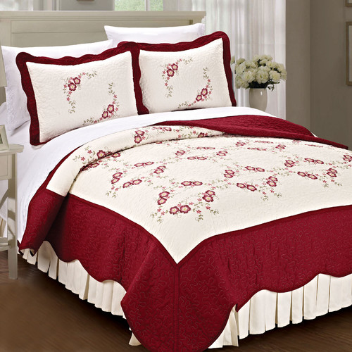 Serenta 3 Pieces Coverlet Set