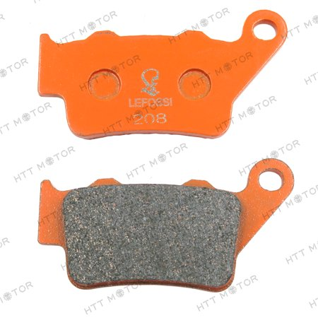 HTTMT- Carbon Ceramic Brake Pads Rear for KTM 400 Super Comp Husqvarna TR650 Strada (Dia Compe Road Brake)